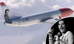 Boeing 737-800 Tailhero Freddie Mercury 1/144