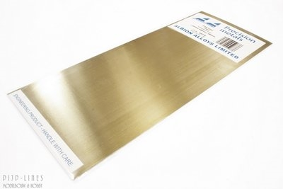 Brass Sheet 0.4 mm 1 sheet