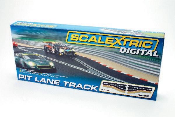 Pit Lane Track (Left Hand) - Includes Sensor