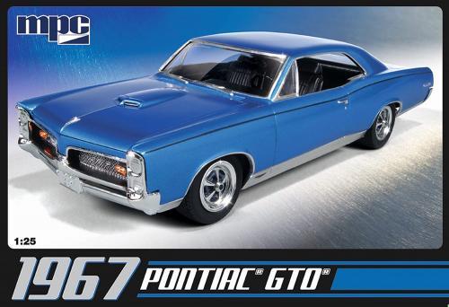 1967 Pontiac GTO (Inkl.engine) 1/25