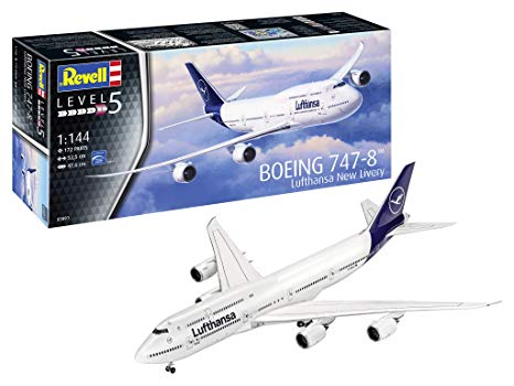 Boeing 747-8 Lufthansa New Livery 1/144