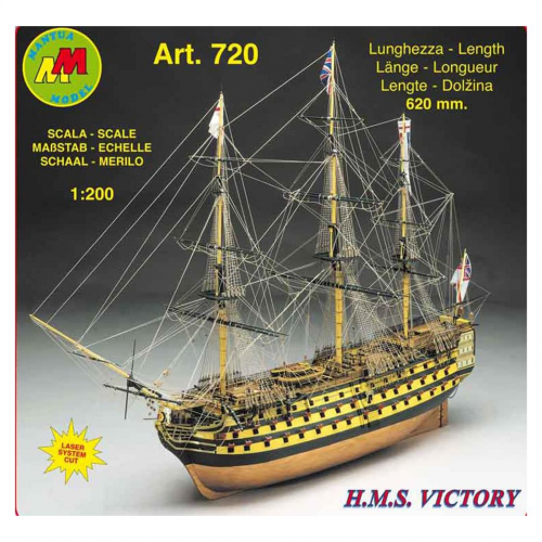 HMS Victory La Nave Ammiraglia di Lord Nelson 1/200