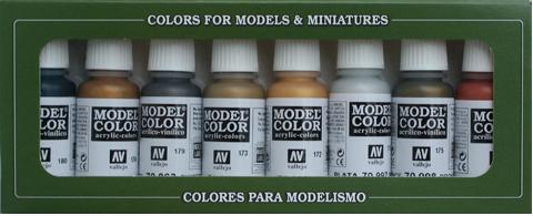 Metallic Colors set (x8)