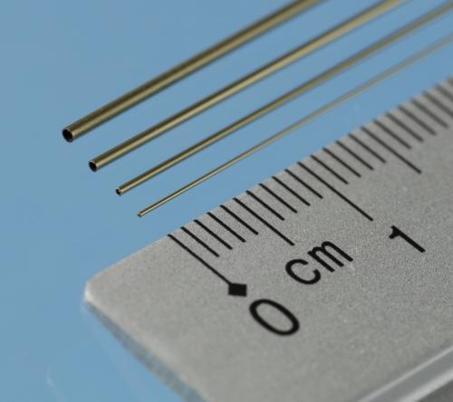 Brass Micro Tube - 0.3/0,1 mm, 3pcs, 305mm