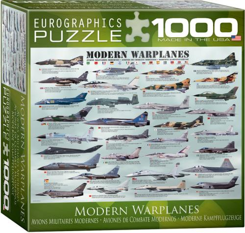 Modern Warplanes 1000 Pc.