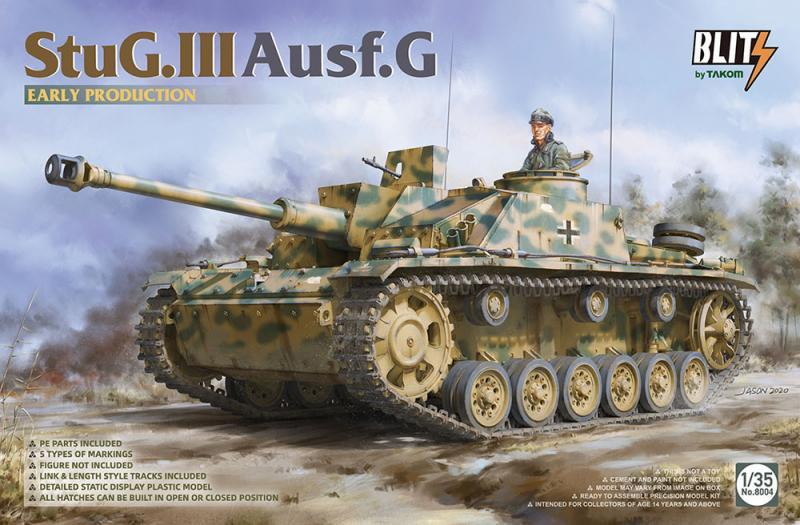 """StuG. III Ausf. G """"Early Production"""" 1/35"""