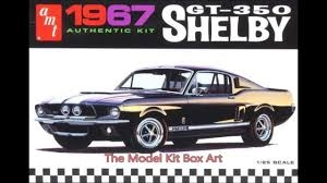 1967 Shelby GT350 (molded in white) 1/25