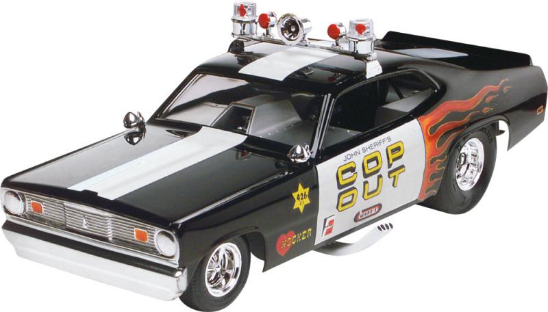 TOM DANIEL Plymouth Duster Cop Out 1/24