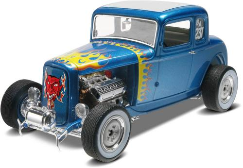 '32 Ford 5 Window Coupe 1/25