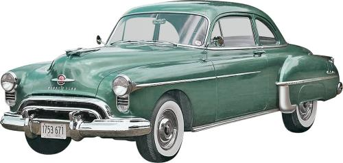 '50 Oldsmobile™ Club Coupe 2 'n 1 1/25