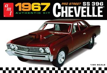 1967 Chevy Chevell Pro Street 1/25