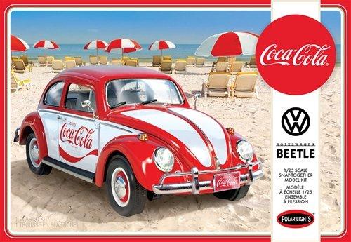 Coca Cola VW Beetle Car (Snap) 1/25