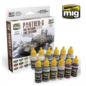 PANTHER G COLORS for interior and exterior