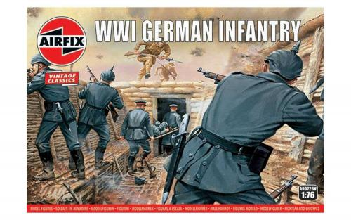 WWI German Infantry Vintage 1/76