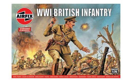 WWI British Infantry Vintage 1/72