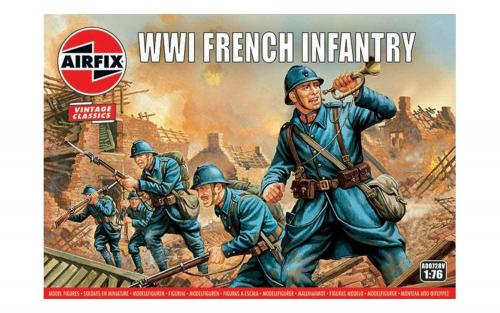 WWI French Infantry Vintage 1/76