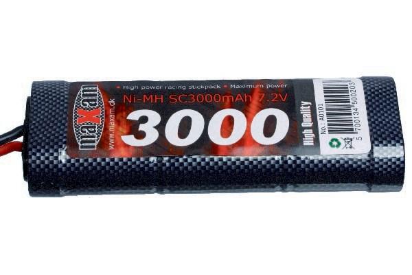 RACING PACK 7,2V 3000MAH NIMH TAMIYA