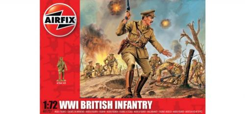 WWI British Infantry 1/72
