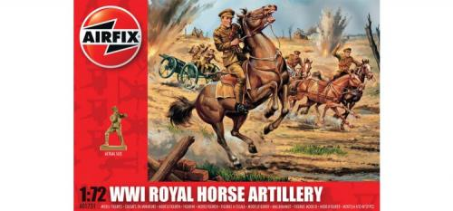 WWI Royal Horse Artillery 1/72