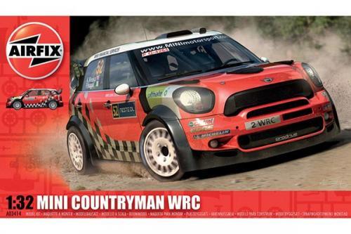 BMW MINI COUNTRYMAN WRC 1/32