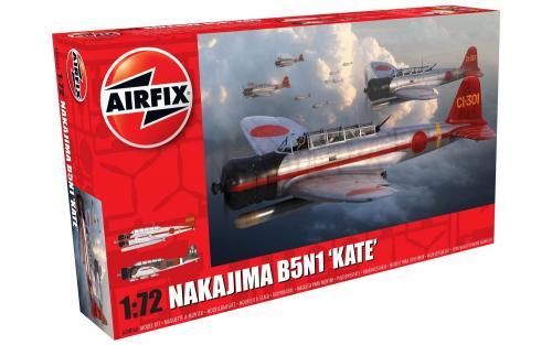 """Nakajima B5N1 """"Kate"""" 1/72"""