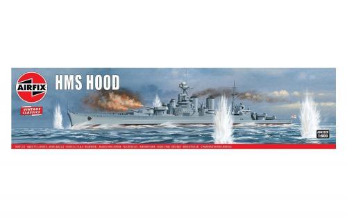 HMS Hood Vintage 1/600