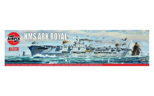 HMS Ark Royal Vintage 1/600