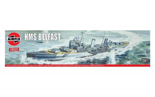 HMS Belfast Vintage 1/600