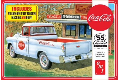 1955 Chevy Cameo Pick Up (Coca-Cola) 1/25