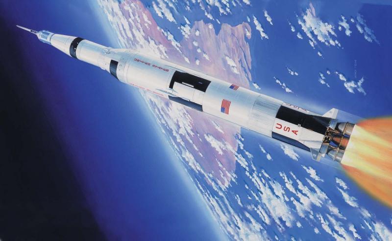 Apollo Saturn V 1/144