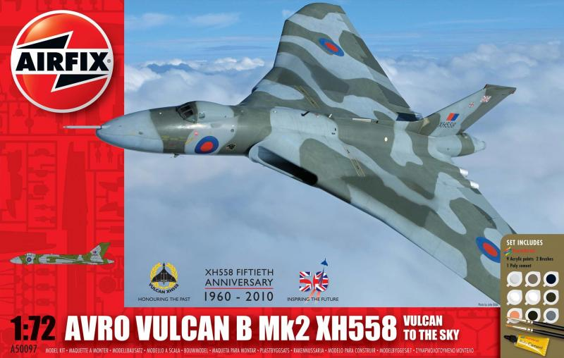 Avro Vulcan B Mk2 XH558: Vulcan To The Sky Gift Set 1/72