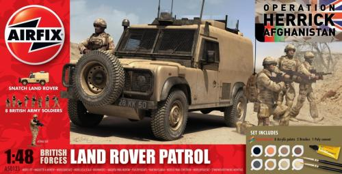 British Forces Land Rover Patrol Gift Set 1/48