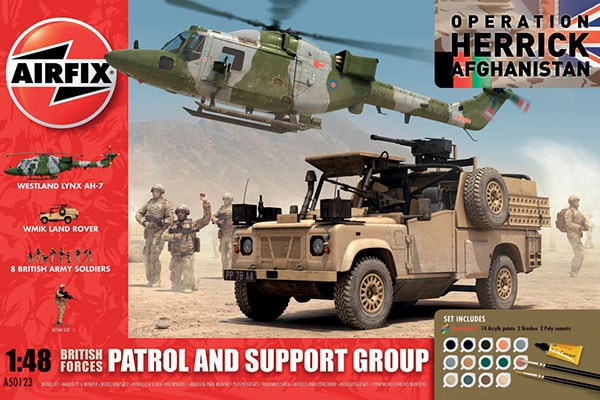 BRITISH FORCES - PATROL AND SUPPORT GROUP 1/48