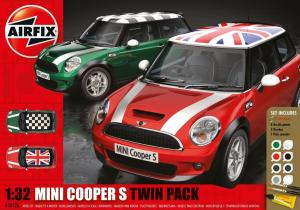 MINI Cooper S Twin Pack Gift Set 1/32