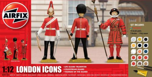 London Icons Presentset 1/12