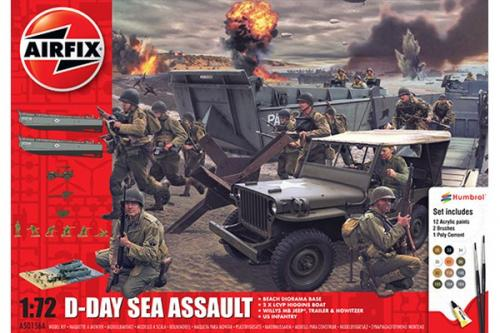 75TH Anniversary D-Day Sea Assault Set 1/72