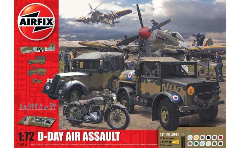 75TH Anniversary D-Day Air Assault Set 1/72