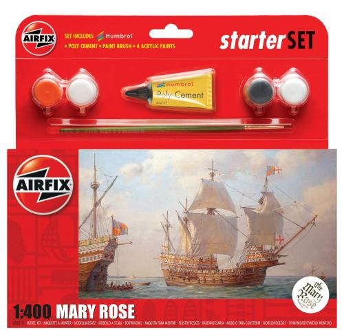 Starter Set Mary Rose 1/400