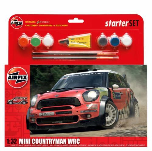 MINI Countryman WRC Starter Set 1/32