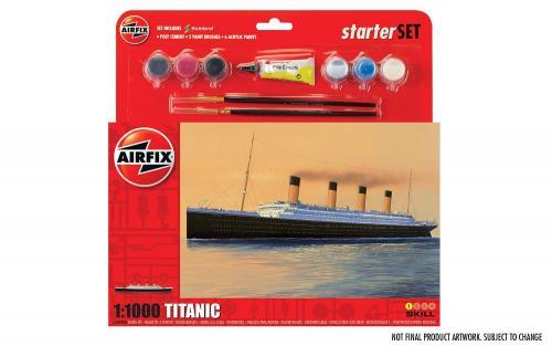R.M.S. Titanic Gift Set 1/1000