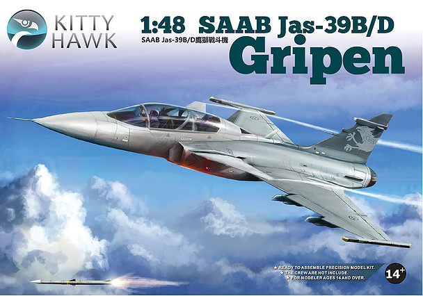 SAAB JAS39B/D Gripen 2-seater 1/48