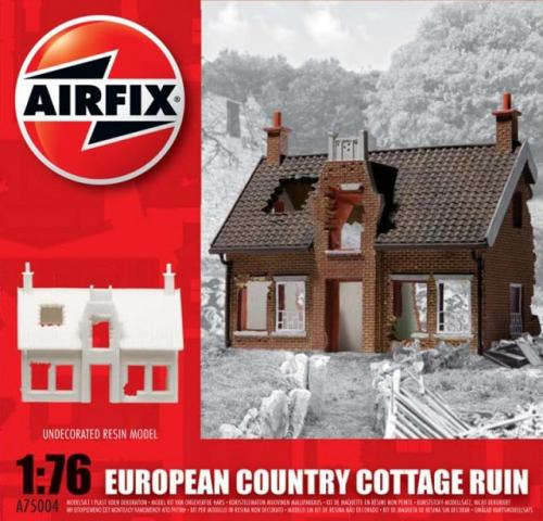 European Country Cottage Ruin 1/76