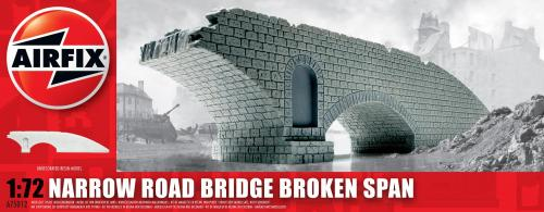 Narrow Road Bridge Broken Span 1/72