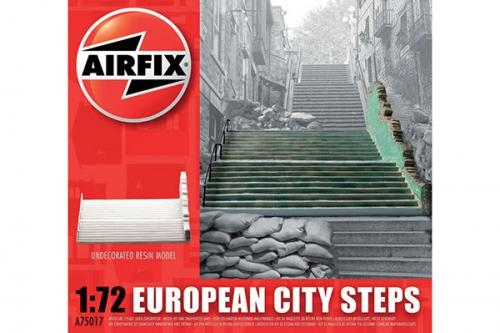 Undecorated European City Steps 1/72