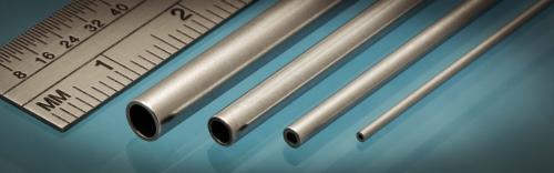 Aluminium Tube, 1 x 0.25 mm, 4pcs, 305mm
