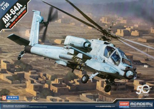 """AH-64A ANG """"South Carolina"""" 1/35"""