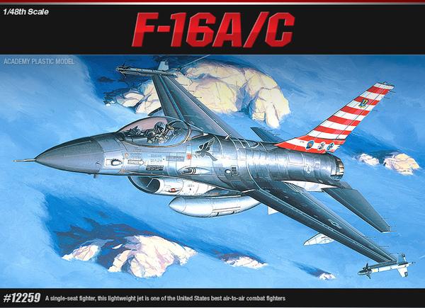 F-16A/C Fighting Falcon 1/48