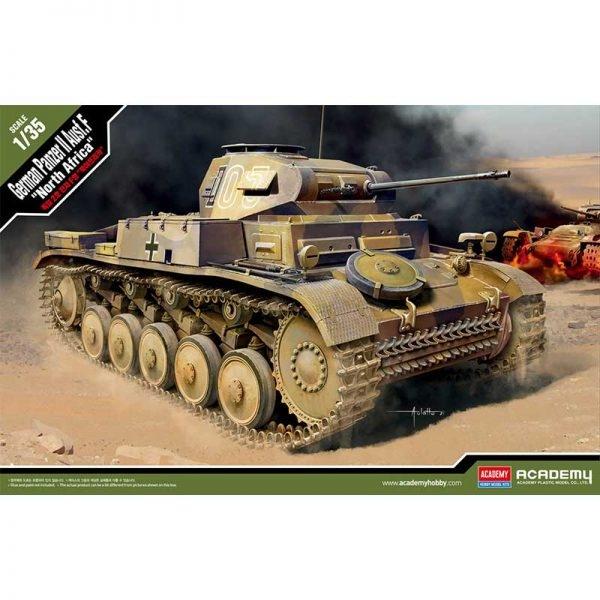 "Panzer II Ausf F ""North Africa"" 1/35"