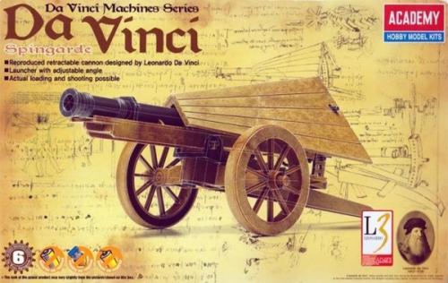 Leonardo da Vinci Spingarde (no glue, moveable parts)