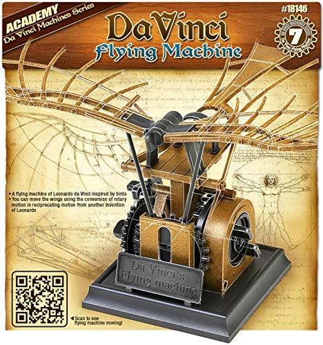 Leonardo da Vinci Flying Machine (no glue, movable parts)